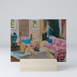 Golden Girls living room Mini Art Print