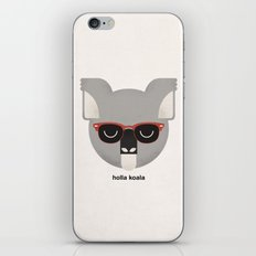 Holla Koala iPhone & iPod Skin