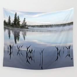 trees and weeds reflected Wall Tapestry