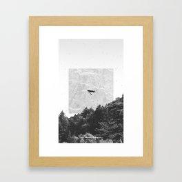 Le Passager de la Pluie Framed Art Print