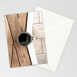 Artistic Cold Brew Shot 2 // Wood Steel & Stone Caffeine Coffee Shop Barista Wall Hanging Photograph Stationery Cards