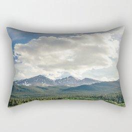 Rocky Mountains – Long's Peak Rectangular Pillow