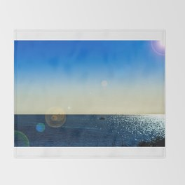The Mediterranean At Mojacar Throw Blanket