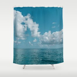 Hawaii Water VIII Shower Curtain