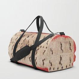Tsudrukt South Tibetan Tiger Skin Rug Print Duffle Bag