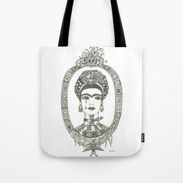 Frida Kahlo - Message of Pain Tote Bag