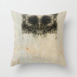Skulloid II Throw Pillow
