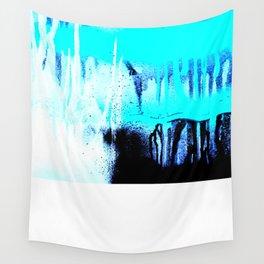 Blue Lightning Wall Tapestry