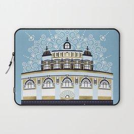 Budapest Bath House – Blue & Gold Palette Laptop Sleeve