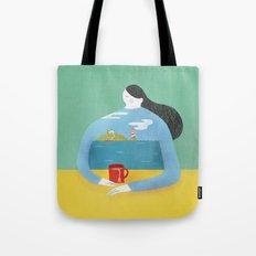Sea Shirt Tote Bag