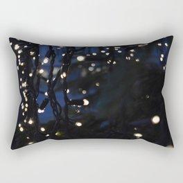 Tree Lights Rectangular Pillow