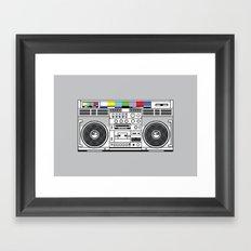 1 kHz #3 Framed Art Print