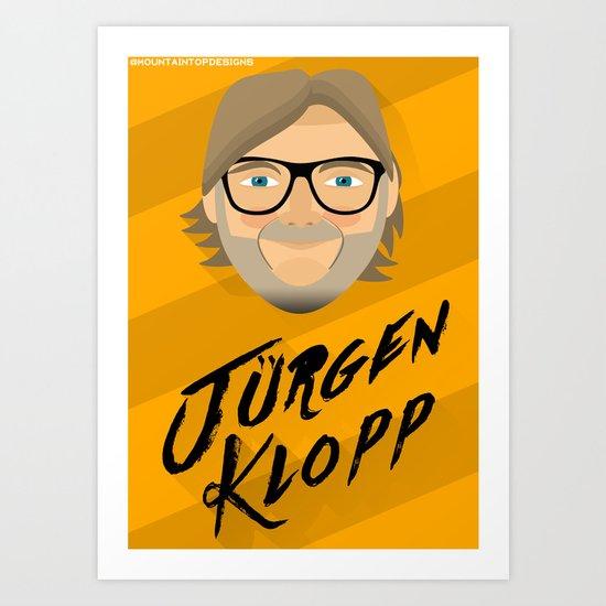 Jurgen Klopp Art Print