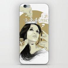 I am a princess iPhone & iPod Skin
