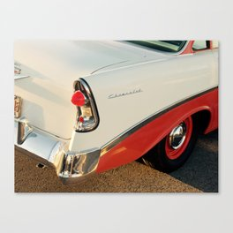 Classic car tail light Canvas Print