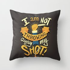 My Shot Throw Pillow