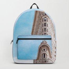 New York Building Flatiron Backpack