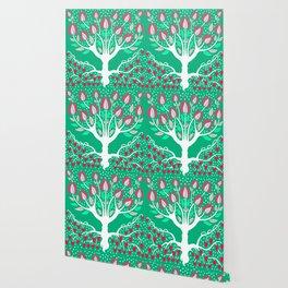 Love Grows Forever - Emerald Green Wallpaper