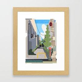 Japan Still Life 003   路地 Framed Art Print