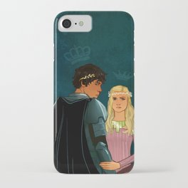 The Brave Princess & The Rebel King iPhone Case