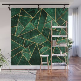 Deep Emerald Wall Mural