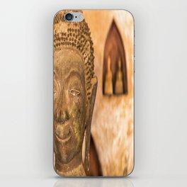 Wat Si Saket Buddhas VII, Vientiane, Laos iPhone Skin