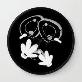 MENSA BLACK SiDE ver. (Original Characters Art By AKIRA) Wall Clock