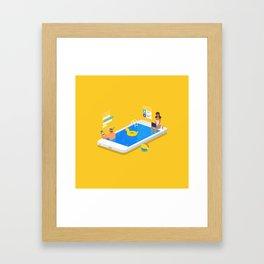 Always Online Framed Art Print