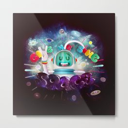 Give Me Some Space Metal Print