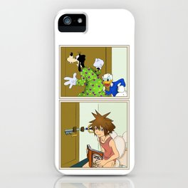 KINGDOM HEARTS: WINNIE THE POOP iPhone Case
