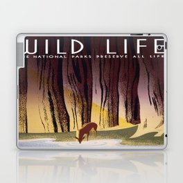 Wild Life - National Parks Preserve All Life Laptop & iPad Skin