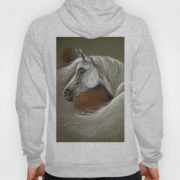 Arabian horse soft pastel Hoody