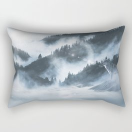 The Arctic Wolf Rectangular Pillow