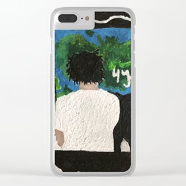 4 Your Eyez Only - J. Cole - Melted Crayon Wax Clear iPhone Case