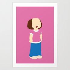 Family Guy - Meg Griffin Art Print