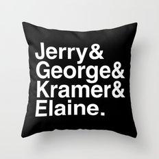 Seinfeld Jetset Throw Pillow