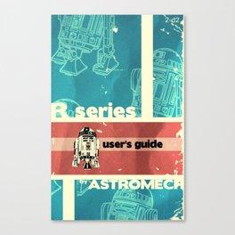 Astromech User's Guide R2-d2 Canvas Print