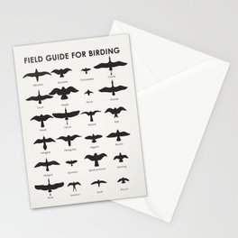 Field Guide for Birding Stationery Cards