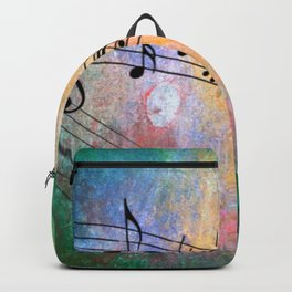 Abstract MUSIC Backpack