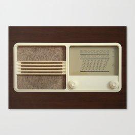 Vintage Sounds Canvas Print