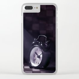Zeiteinblendung Clear iPhone Case