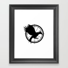 Catching Fire MockingJay  Framed Art Print
