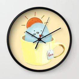 A Beautiful Day Begin Wall Clock