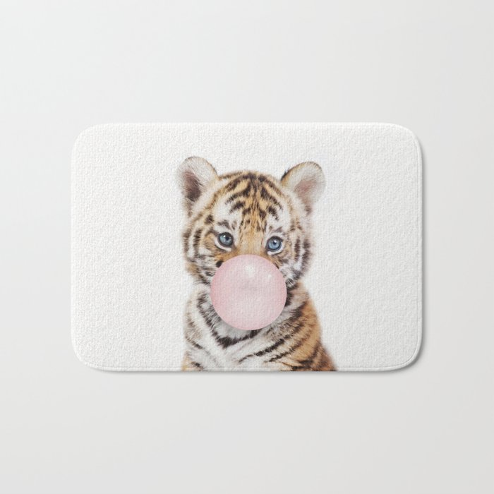 Bubble Gum Tiger Cub Badematte