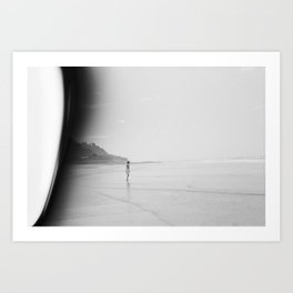 At the End of the World Art Print