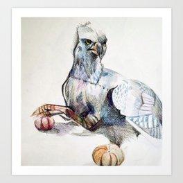 Buckbeak Art Print