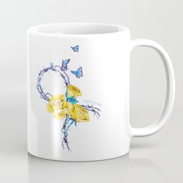 Ribbon | Endometriosis awareness Coffee Mug