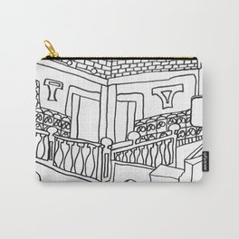 Beautiful Mediterranean Rooftop Escape Carry-All Pouch