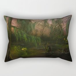 Swamp La Vie: Scouting in Twilight (2015) Rectangular Pillow