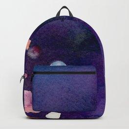 Watercolor bokeh Backpack